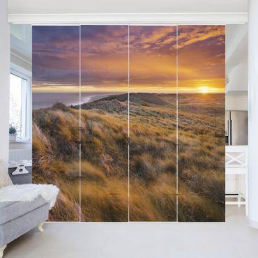 Tende scorrevoli set - Sunrise On The Beach On Sylt