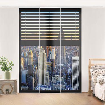 Tende scorrevoli set - Window View Blinds - Sunrise New York