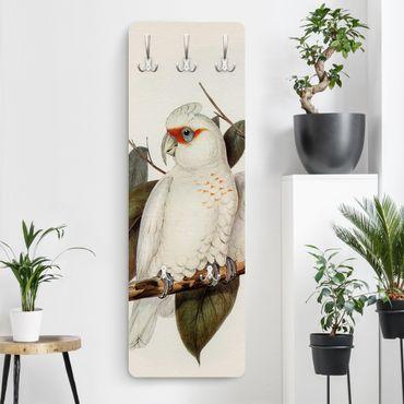Appendiabiti - Illustrazione Vintage White Cockatoo