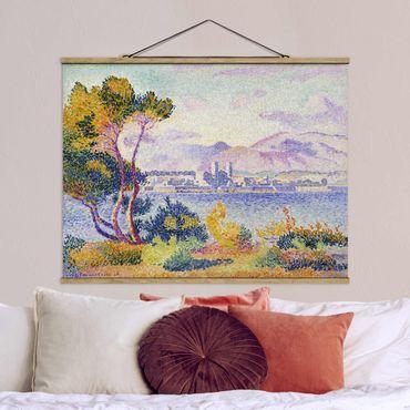 Foto su tessuto da parete con bastone - Henri-Edmond Cross - Antibes Pomeriggio - Orizzontale 3:4