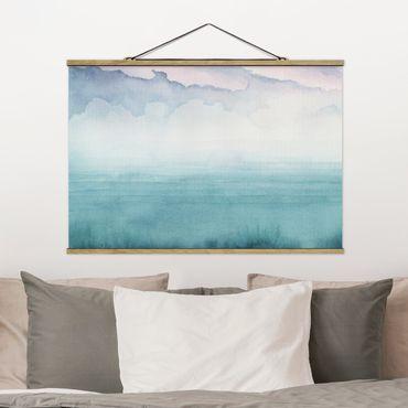 Foto su tessuto da parete con bastone - Crepuscolo On The Bay I - Orizzontale 2:3