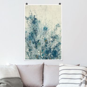 Poster - Blue Spring Meadow I - Verticale 3:2