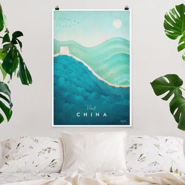 Poster - Poster di viaggio - Cina - Verticale 3:2