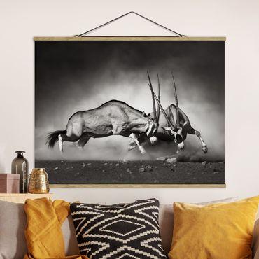 Foto su tessuto da parete con bastone - ferino - Orizzontale 3:4