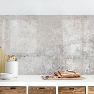 Rivestimento cucina - Effetto cemento shabby