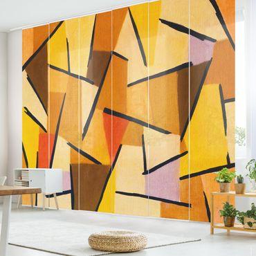 Tende scorrevoli set - Paul Klee - Harmonized Struggle