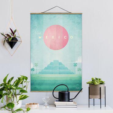 Foto su tessuto da parete con bastone - Poster di viaggio - Messico - Verticale 3:2