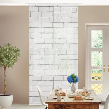 Tende scorrevoli set - White Stone Wall