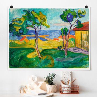 Poster - Edvard Munch - Il Giardino - Orizzontale 3:4