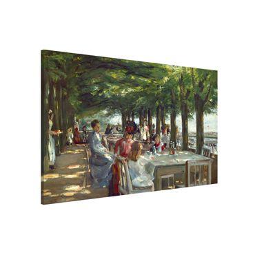 Lavagna magnetica - Max Liebermann - The Terrace Restaurant Jacob - Formato orizzontale 3:2