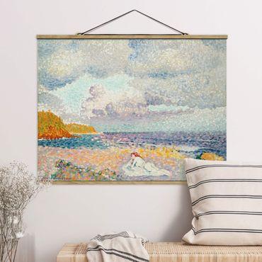 Foto su tessuto da parete con bastone - Henri-Edmond Cross - dopo la tempesta - Orizzontale 3:4