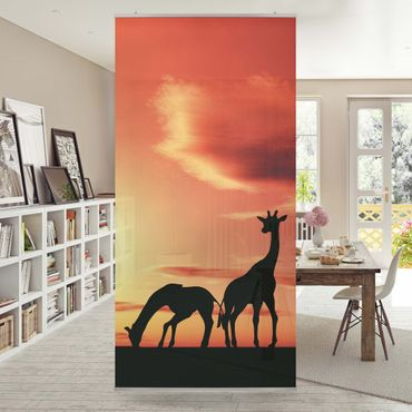 Tenda a pannello African Life 250x120cm