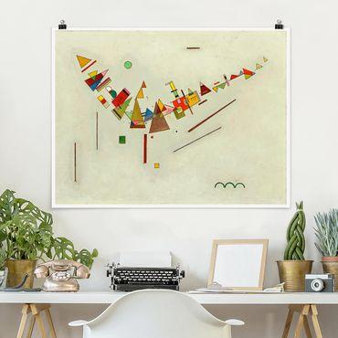 Poster - Wassily Kandinsky - Angular Momentum - Orizzontale 3:4