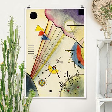 Poster - Wassily Kandinsky - Collegamento Significativo - Verticale 3:2