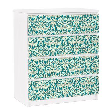 Carta adesiva per mobili IKEA - Malm Cassettiera 4xCassetti - The 12 Muses - Aoide
