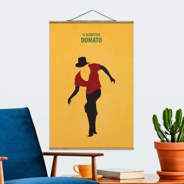 Foto su tessuto da parete con bastone - Poster del film Il bisbetico domato - Verticale 3:2