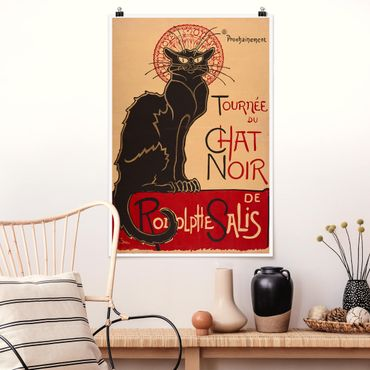 Poster - Théophile Steinlen - The Black Cat - Verticale 3:2