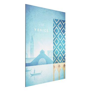 Stampa su alluminio - Poster viaggio - Venezia - Verticale 4:3