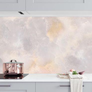 Rivestimento cucina - Marmo Onyx grigio