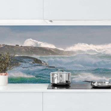 Rivestimento cucina - Nel Rifugio Del Faro