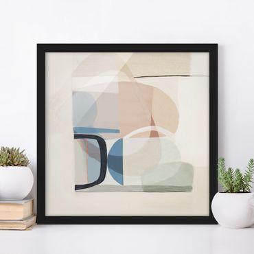 Poster con cornice - Multiform III - Quadrato 1:1