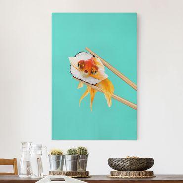 Quadri su tela - Sushi con Goldfish