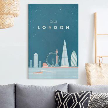 Stampa su tela - Poster Viaggio - Londra - Verticale 3:2