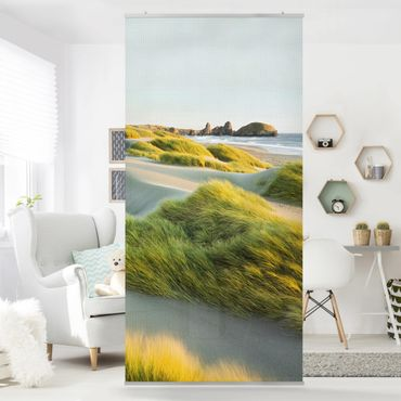 Tenda a pannello - Dunes and grasses at the sea 250x120cm