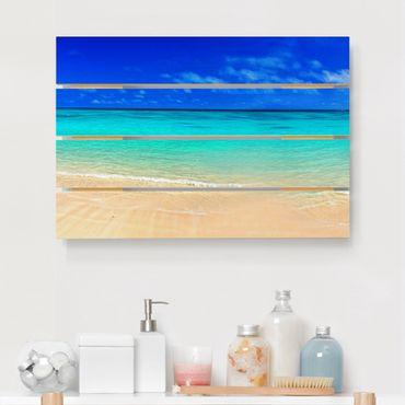 Stampa su legno - Paradise Beach I - Orizzontale 2:3