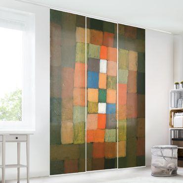 Tende scorrevoli set - Paul Klee - Static-Dynamic Increase