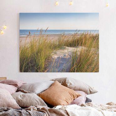 Stampa su tela - Beach Dune Al Mare - Orizzontale 3:4