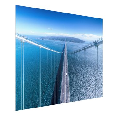 Quadro in forex - Bridge to the Islanda - Orizzontale 4:3