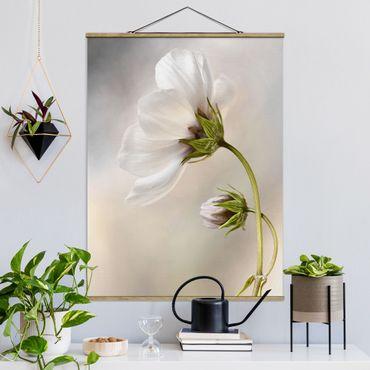 Foto su tessuto da parete con bastone - Blossoms - Verticale 4:3