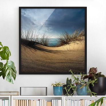 Poster con cornice - Sand Dune - Quadrato 1:1