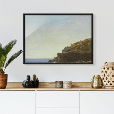 Poster con cornice - Albert Bierstadt - California Coast - Orizzontale 3:4