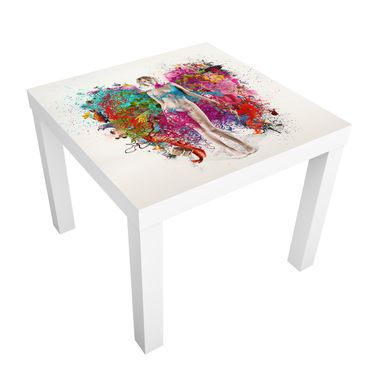 Carta adesiva per mobili IKEA - Lack Tavolino Winged Thoughts