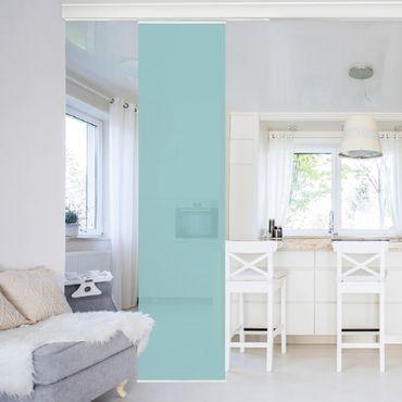 Tenda scorrevole set - Pastel Turquoise
