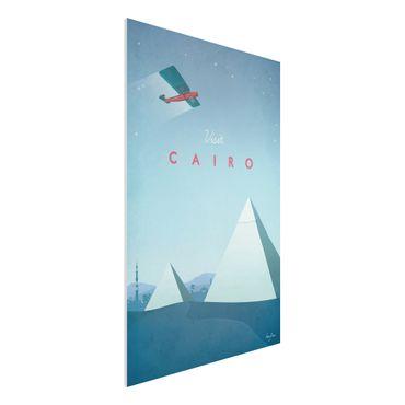 Stampa su Forex - Poster viaggio - Il Cairo - Verticale 3:2