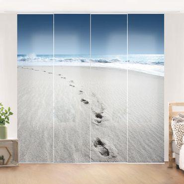 Tende scorrevoli set - Traces In The Sand