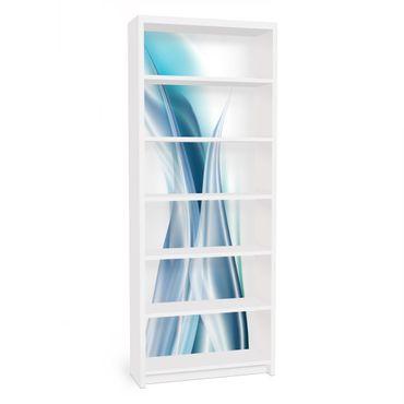 Carta adesiva per mobili IKEA - Billy Libreria - Blue Dust