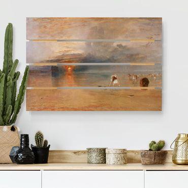Stampa su legno - William Turner - alla spiaggia di Calais - Orizzontale 2:3