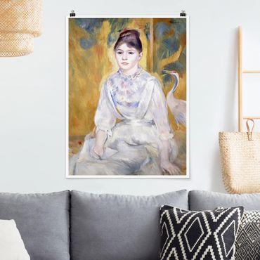 Poster - Auguste Renoir - Ragazza Con Swan - Verticale 4:3