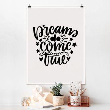 Poster - I sogni si avverano - Verticale 4:3