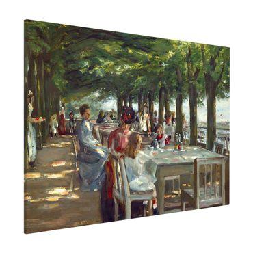 Lavagna magnetica - Max Liebermann - The Terrace Restaurant Jacob - Formato orizzontale 3:4