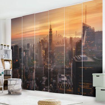 Tende scorrevoli set - Manhattan Skyline Evening