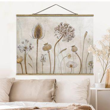 Foto su tessuto da parete con bastone - Growing Old - Orizzontale 3:4