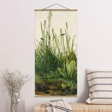 Foto su tessuto da parete con bastone - Albrecht Durer - The Great Lawn - Verticale 2:1