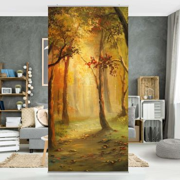 Tenda a pannello Painting of a Forest Clearing 250x120cm