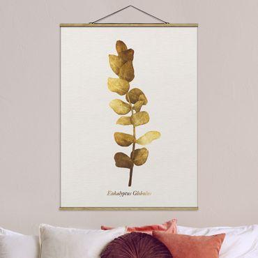 Foto su tessuto da parete con bastone - Gold - Eucalyptus - Verticale 4:3
