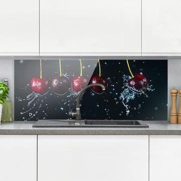 Paraschizzi in vetro - Fresh Cherries - Panoramico